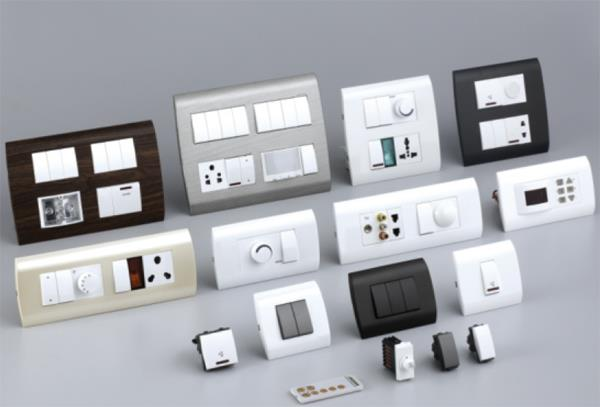 Branded Modular Switches - by Electrical Stores | Visakhapatnam, Visakhapatnam