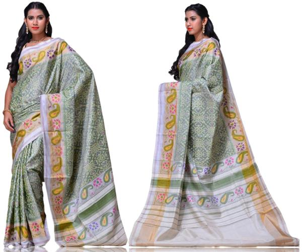 Price:- 13300/-   New collection of Ikkat sarees, ikkat Silk sarees, ikkat Cotton sarees, ikkat sarees. Sign up now for E-book you will be updated with latest collection of ethnic verities. For More Info Click on :- www.uppada.com  We manuf - by Paithani, Hyderabad