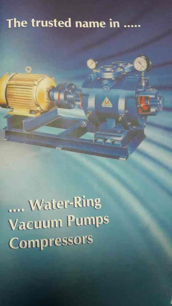 we are the leading manufacturer of Industrial Vacuum Pump in ahmedabad... - by Alpha Vacuum Technology, Ahmedabad