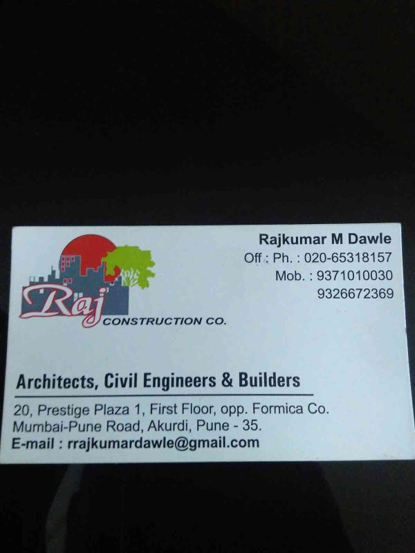 Best architects in Pune  - by Raj Construction Co, Pune