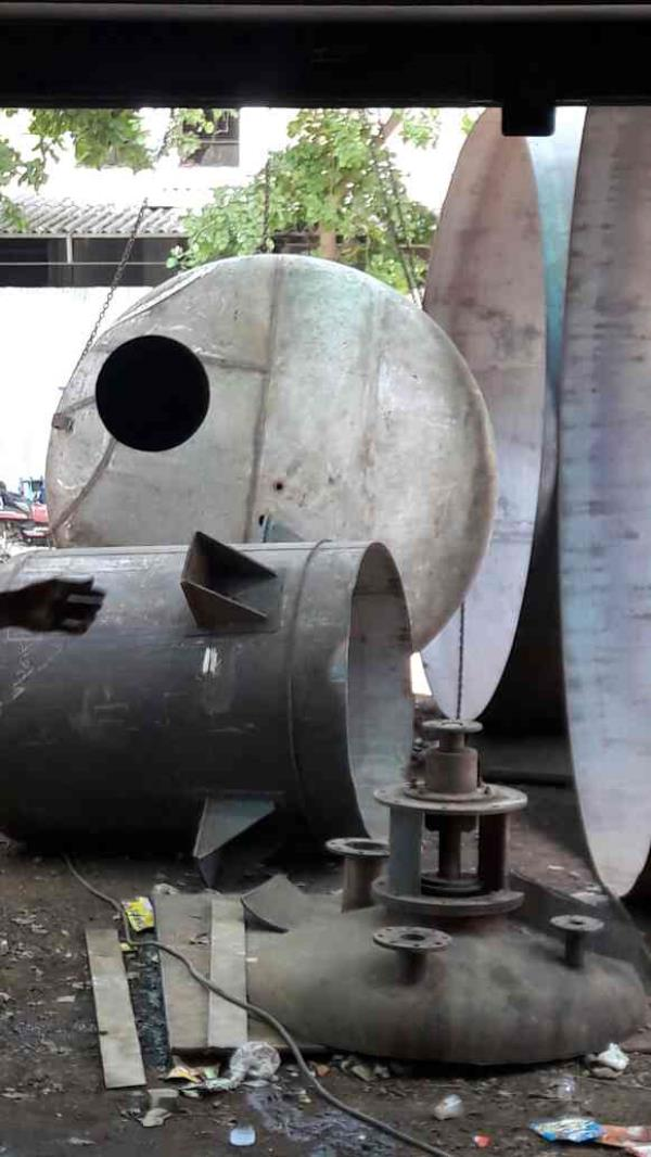 We are the vessel tank manufacturer and supply all over India according to customers need... - by Shubhangi Welding Works, Ahmedabad