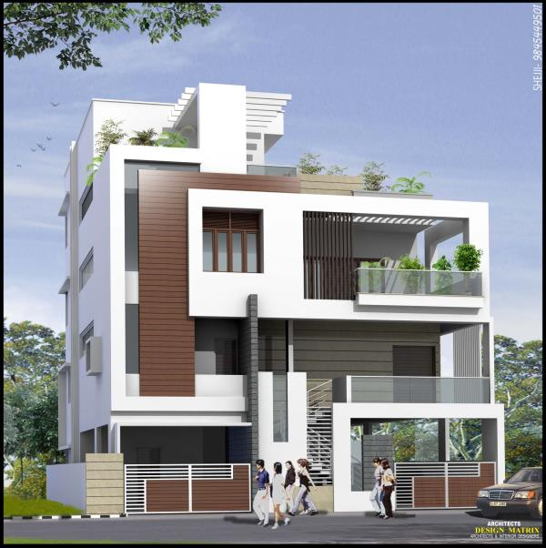 Residential Building plans at Chandra Layout
