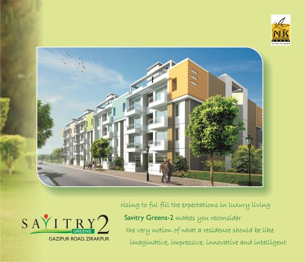 Savitry Greens 2 Gazipur Road zirakpur.9872565420 - by N.K Sharma Group Of Companies, Zirakpur