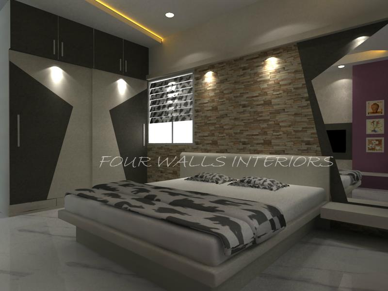 ‪The details are not the details, they make the design.  #‎designs‬ ‪#‎bedrooms‬ ‪#‎interiordesigns‬  We Are Reachable at www.fourwallsinteriors.com - by Four Walls Interiors, Coimbatore