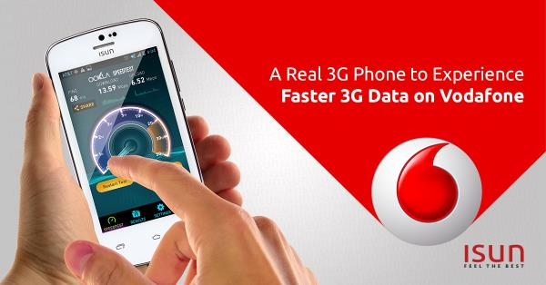 ISUN with Vodafone a super fast 3G Experience - by Isun, Chennai