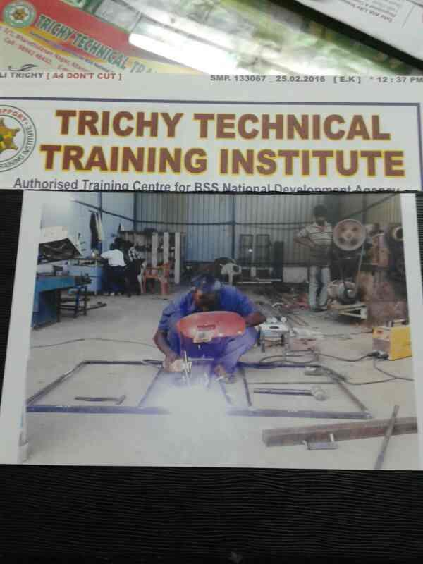 we are the best welding institute in Trichy  - by Trichy Technical Training Institute, trichy