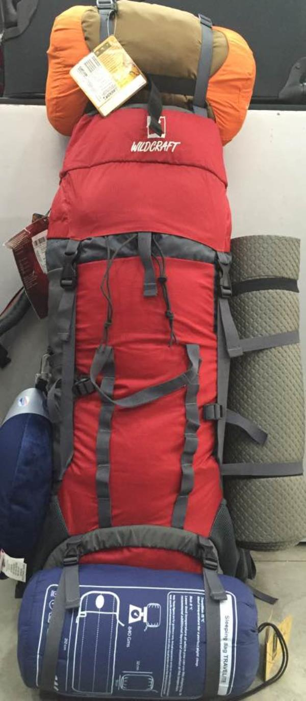 TRACKING BAG  and traveling gear available.