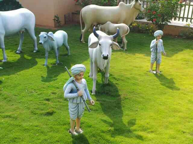 see the great fiber product u can see that types of product only at JYOTI FIBER GLASS WORKS.  jignesh RATHOD  Frp village product statue  all animals and man statue  - by Jyoti Fiber Glass Works, Ahmedabad