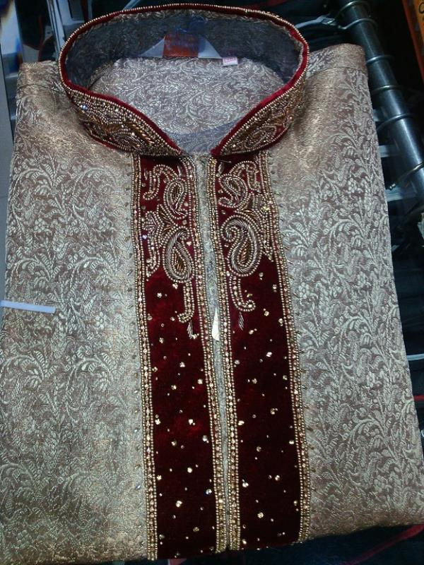 Sherwani with customized order  Sherwani maker in India  - by Raj Collection (एक वैवाहिक कलेक्शन ), Bareilly