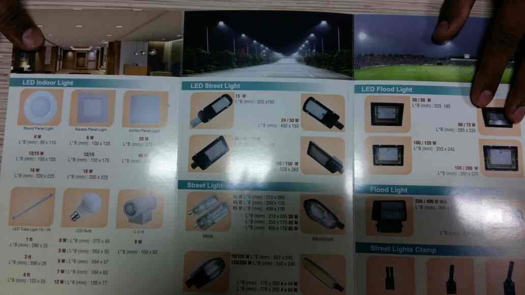we are manufacfureres all type of led lights fixtures - by sunbeam electricals, Ahmedabad