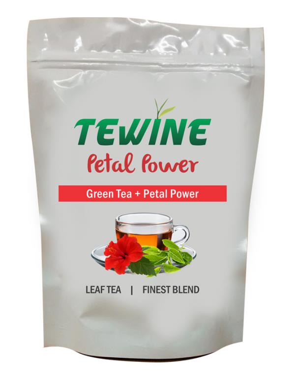 Tewine  -   (Green Tea + Hibiscus)  A fine blend of Premium Whole  leaf green tea  blended with Hibiscus and naturally sweet liquorice that boosts immunity and calms the nerves.