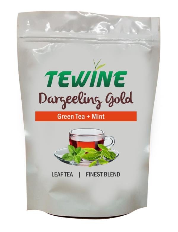 A fine blend of Premium Whole leaf green tea blended with Mint and naturally sweet liquorice that boosts immunity and calms the nerves