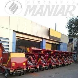 we Maniar& company  one of the most leading name in this industry, we are engaged in offering a fine quality of Rickshaw Jetting. This is a three or four Wheeler multi purpose high pressure sewer Jetting machine that is suitable for efficient and effective cleaning of choked underground drainage and sewer lines. Our quality experts also test this rickshaw on various parameters before providing it to the clients.