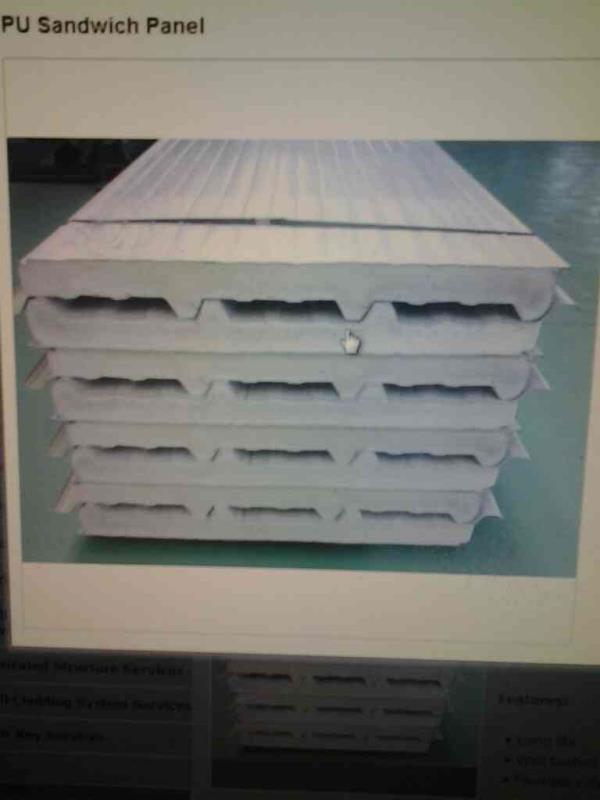 pu sandwich panel in india