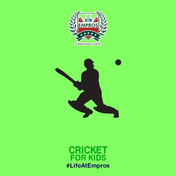 CRICKET  ADMISSIONS OPEN!!!  NURSERY TO IV  FOR ONLINE ADMISSIONS  http://asmempros.org/online-admissions.php - by ASM Group of Institute, Pune