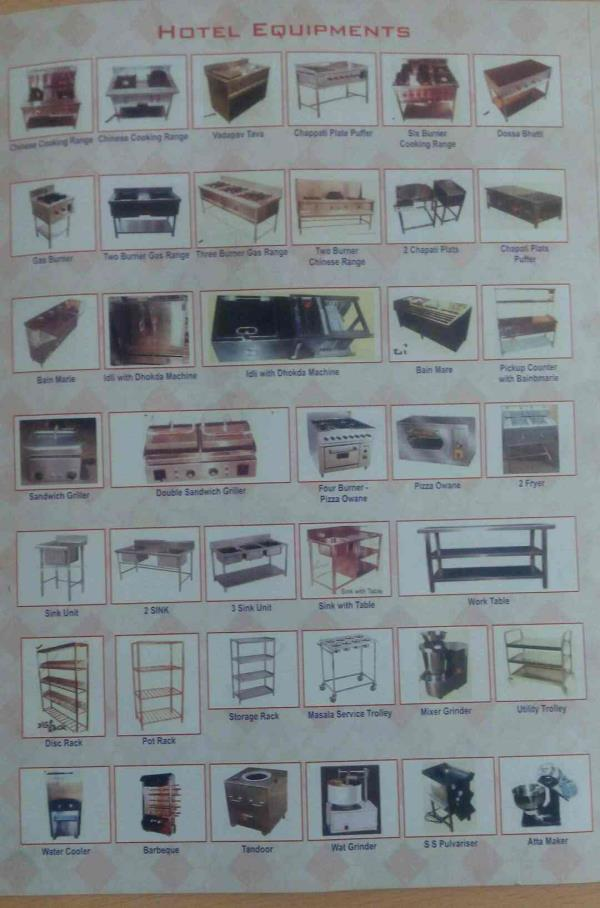 kitchen equipments manufacturer in Vadodara Gujarat - by Mintuimpex, Vadodara