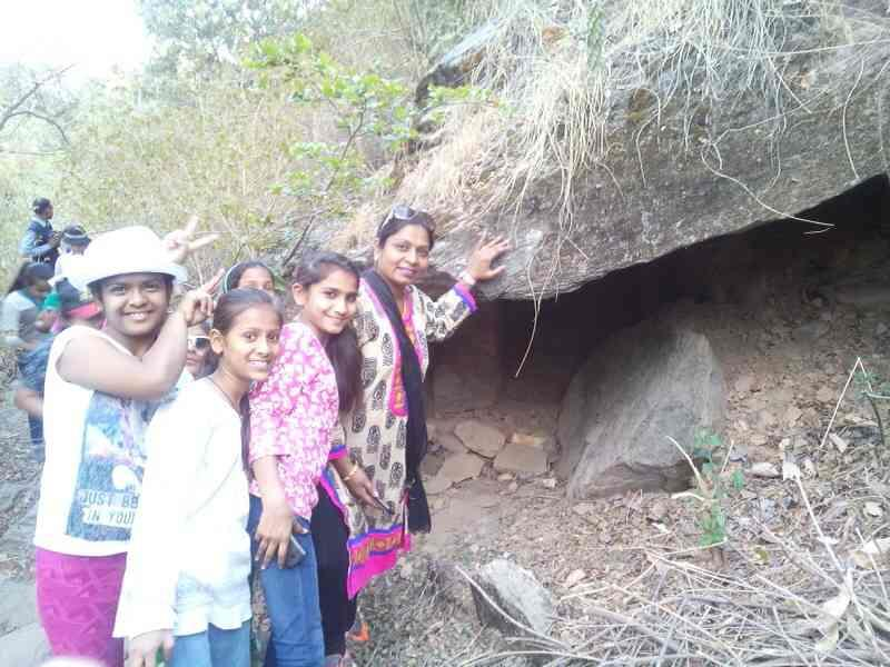 when you will come at Mount abu we will show you many deep cave in the depth of the forest ### Alika Sports 9829744283. - by Adventure Trekking @ Mount Abu, Mount Abu
