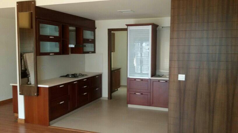 open kitchens total mdf made by westend interiors - by Westendinteriors, Bangalore