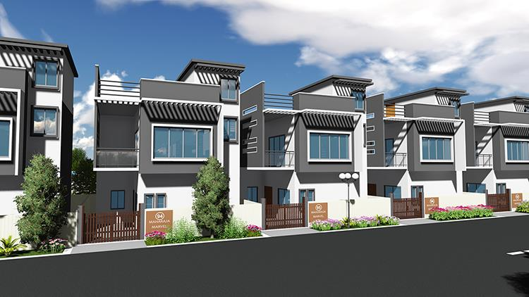 3bhk villa in jp nagar south bangalore - by Cementech Infrastructure Pvt Ltd, Bangalore