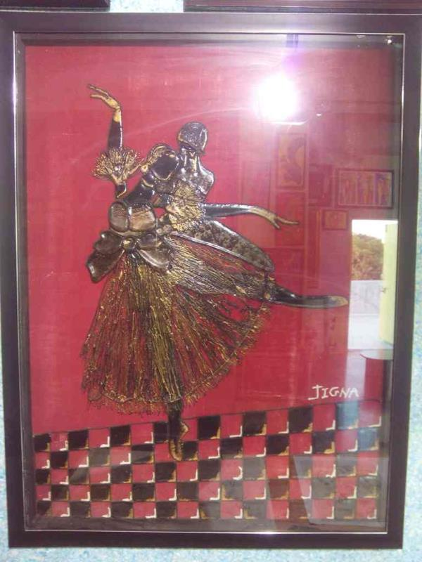 TAR Painting made by us at Leo Art Rock in Vadodara Gujarat.