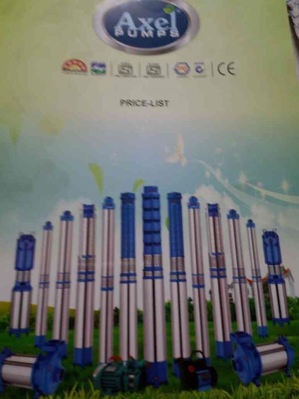 Axel Pumps Manifacturers of Submersible Pump in Rajkot