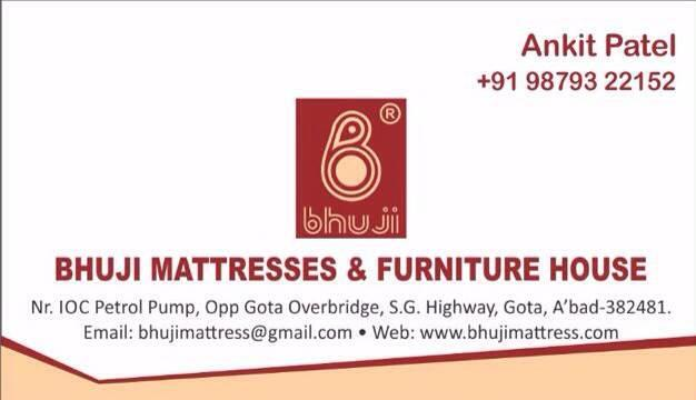 Our New Mattress & Interior Gallery Address: - by Bhuji Mattresses & Furniture House, Ahmedabad