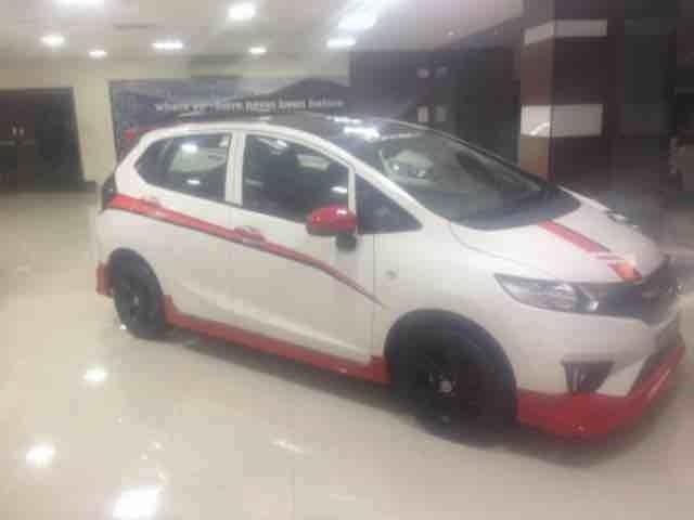Honda Jazz modified in pride Honda for details contact 9505504810