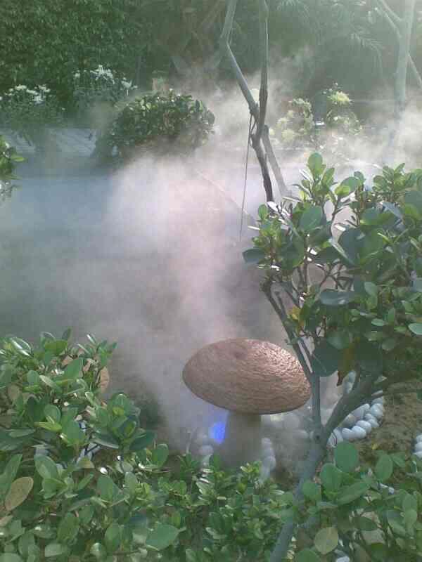 Mist Fog Effect System  it's awesome look & creative thought to Reduce outdoor temperature and effective for outdoor party's. Best for outdoor get together party in sunny day's. R.S ENTERPRISES 9990154546/9911303925