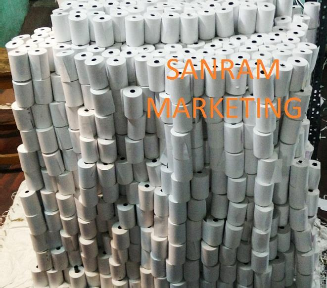 Thermal Printer Rolls Manufacturer in Hyderabad. Thermal Printer Rolls in Hyderabad, Thermal Printer Rolls suppliers in Hyderabad,  With hard-earned experience of our qualified professionals, we are engaged in offering a precisely composed  - by SANRAM MARKETING, Hyderabad