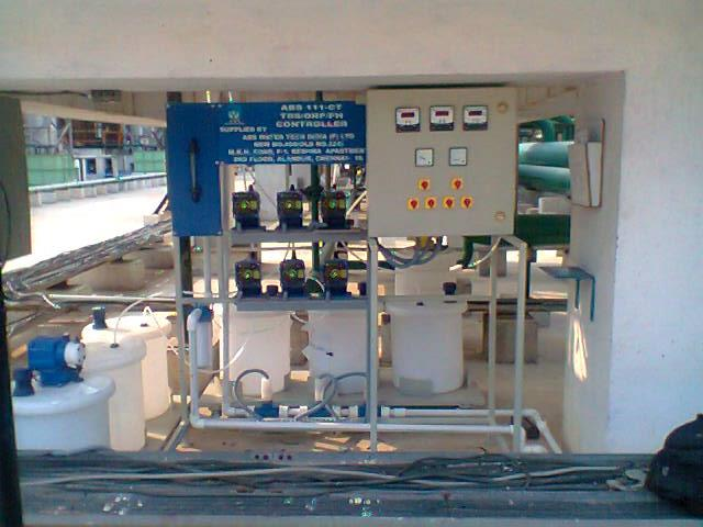 Water Treatment auto control system projects in Tamil Nadu.