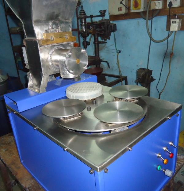 Idiyappam machine Table top-15 M - by Lalit Food Machines, Chennai