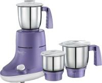 Retains Nutrition Stable and Sturdy operation 3 Speed control with incher Automatic overlaod cut-off Stainless Steel & Polished blade Handle designed for better grip Blender jar Dry/Wet Grinding Jar Chutney jar 55oW Powerful Motor Warranty  - by Samruddhi G Mart, Bangalore