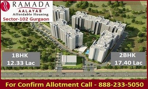 Ramada Affordable Housing at Sector 102 Dwarka Expressway  More Info 8882335050 Web- http://www.futurerealtyindia.com/Ramada-Aalayas-Sector-102-Gurgaon.aspx - by Affordable Housing In Gurgaon, Gurgaon