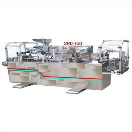 Being a quality-centric organization, we are focused in manufacturing and supplying high performing Alu Alu Blister Packaging Machine. Offered machine is manufactured in our well equipped manufacturing unit under the stern guidance of our professionals by making use of well-checked components and latest technology. Moreover, it is highly demanded in pharmaceutical, food and cosmetic industries for packaging purposes. We offer this Alu Alu Blister Packaging Machine in varied specifications at industry-leading prices to the clients in Gujarat, India.