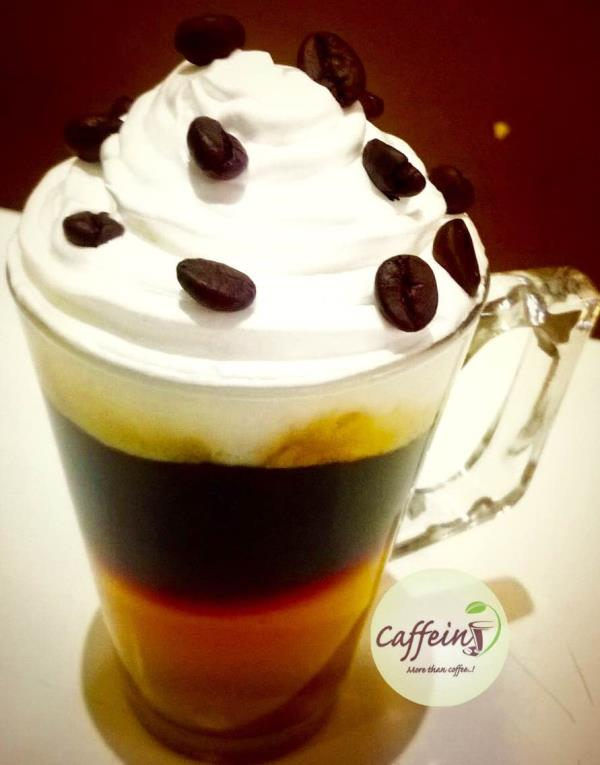 #hot #Irish #coffee #whipped #cream #coffee #beans #favourite #coffee #caffein #baroda   - by Caffein More than Coffee, Vadodara