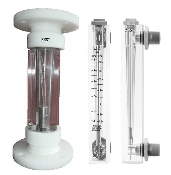 Specifications Of Acrylic Body Rotameter Ability to handle liquid, gas Weight : 0. 4kg Pressure : 1.0MPa, 1.6MPa Simple in structure and operation Size : 1â to 4â Meter Body Float : MS Powder coated/SS. Wetted Part : SS316, MS, PTFE, PVC or - by Zest Engineering , New Delhi