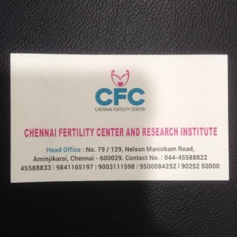 Chennai Fertility Hospital is the Best Fertility Hospital in Chennai.