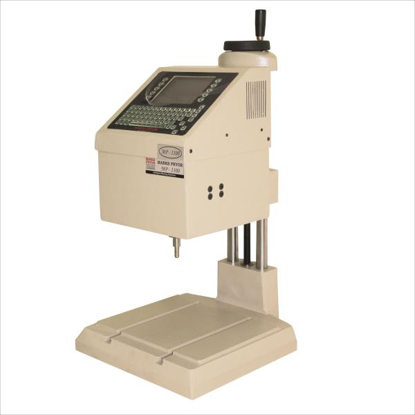 Entry Level Pin Marking Machine (MP1100). This range of machines are developed making utilization of optimum grade basic inputs and sophisticated tools. Obtainable with us in a number of models and specifications, these offered machines are simple to use and are widely cheered owing to their light weight and perfect built.