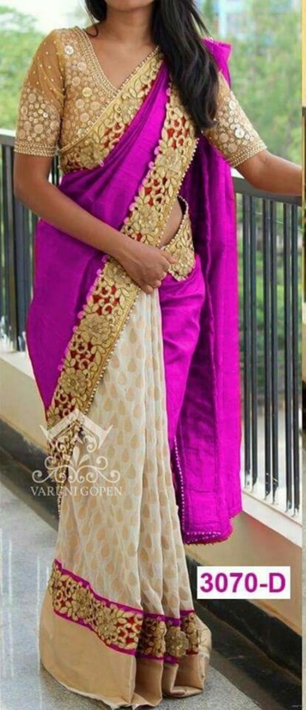 Al Haya presents SHAGUN SAREES  Fab: Georgette designer sarees with blouse attached  MOQ: only full sets  price: ask for best price (whats app:8939943418)  READY TO DISPATCH !!!    Al Haya- A Fashion Destination !!!   whats app: 8939943418  mail.id: sales@alhaya.co.in