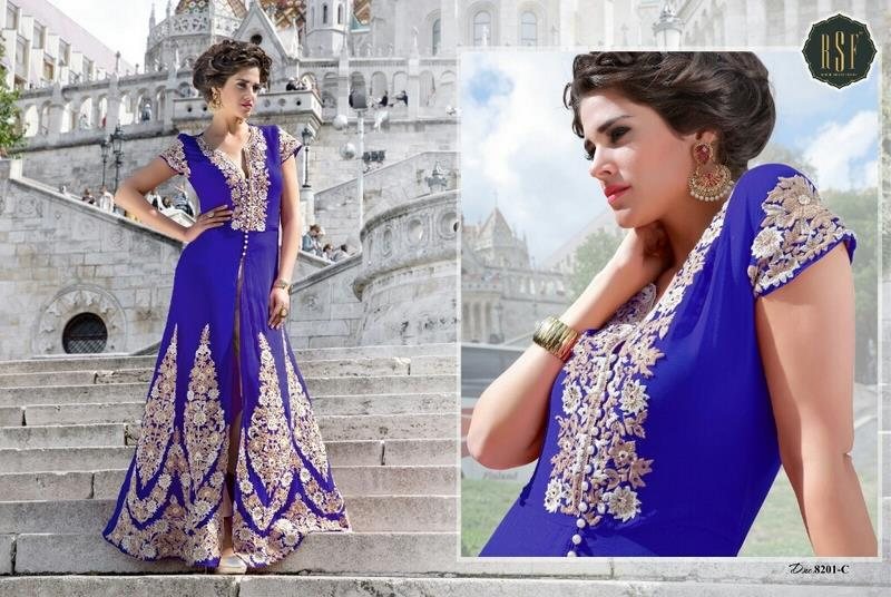 Al Haya presents AUSKEEN  Fab: Georgette designer anarkali suits  MOQ: only full sets  price: ask for best price (whats app:8939943418)  READY TO DISPATCH !!!    Al Haya- A Fashion Destination !!!   whats app: 8939943418  mail.id: sales@alhaya.co.in