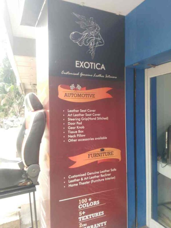 customised leather manufacturer in jayanagar bangalore - by exotica customised, bangalore