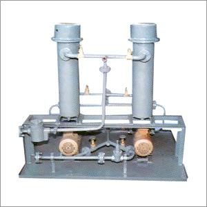 Pumping & Heating System  1. The unit is designed to supply fuel to the burners at a constant pressure and temperature for better combustion.  2. The unit consists of motor, gear pump, oil filters vertical preheaters, pressure gauge, temper - by National Furnaces, New Delhi