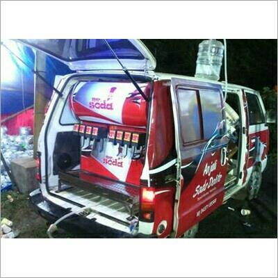 We are a leading manufacturers of mobile chiller vans in Vadodara, Gujarat - by Yog Valley Soda Machine, Vadodara