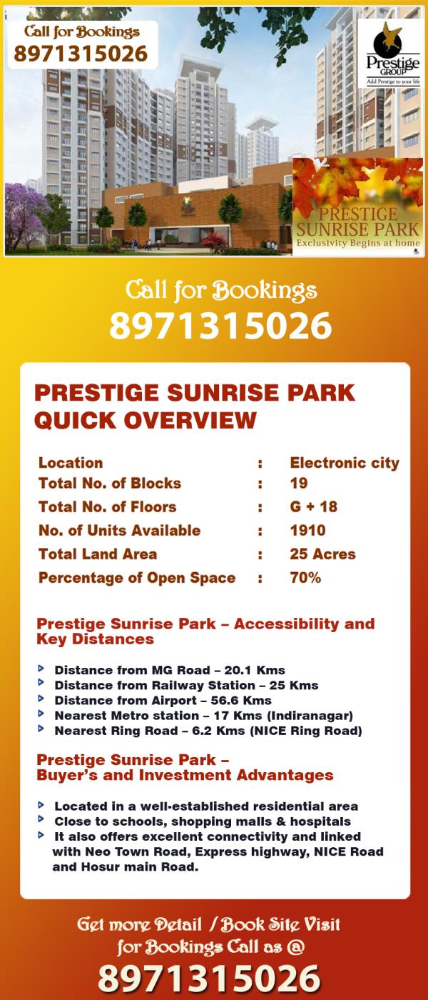 Prestige Sunrise Park floor plan Prestige Sunrise Park for sale Prestige Sunrise Park forum Prestige Sunrise Park facebook Prestige Sunrise Park flat for sale Prestige Sunrise Park feedback Prestige Sunrise Park facebook group Prestige Sunr - by Property Mart, Bengaluru