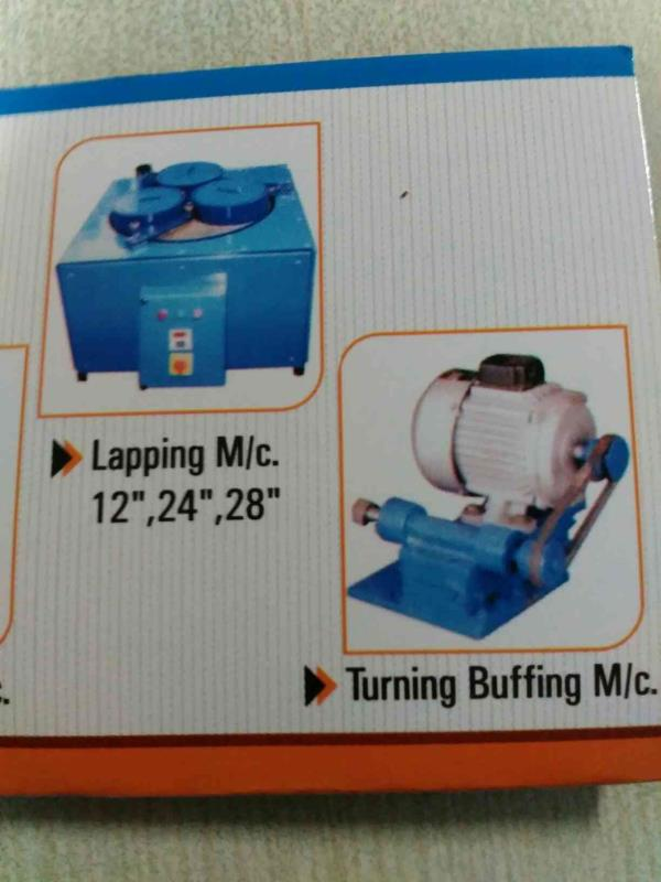 Lapping Machine  Turning Buffing Machine