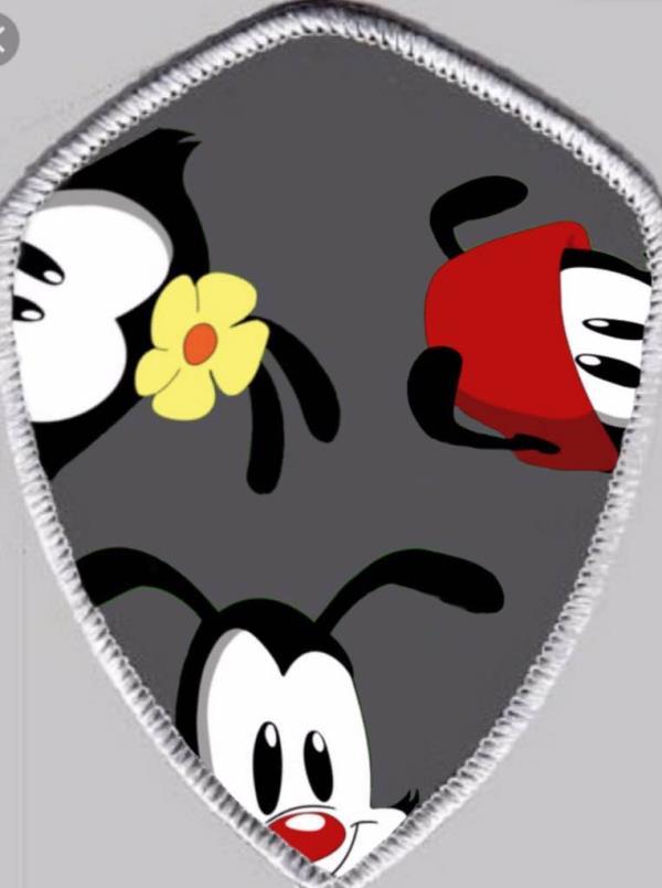 """Animaniacs peek a Boo"" Patch Made By @Young_el_guaco C.E.O. Of Patch It Up Patch It Up Pieces Coming Soon  - by THĒ90'sCŁUB, New York County"