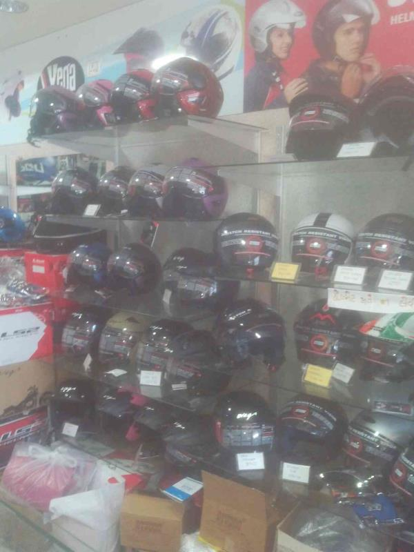 We have all quality of helmets. - by Helmet Riders Shop, Ahmedabad
