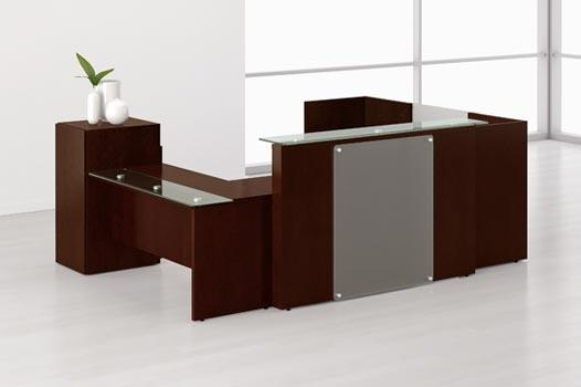 Office Reception Furniture We jay ambey furniture also provide office furniture like reception cabin, reception furniture. storage furniture etc in ahmedabad and ganchinagar.  call on 7567300661 - by Jay Ambey Furniture, Gandhinagar
