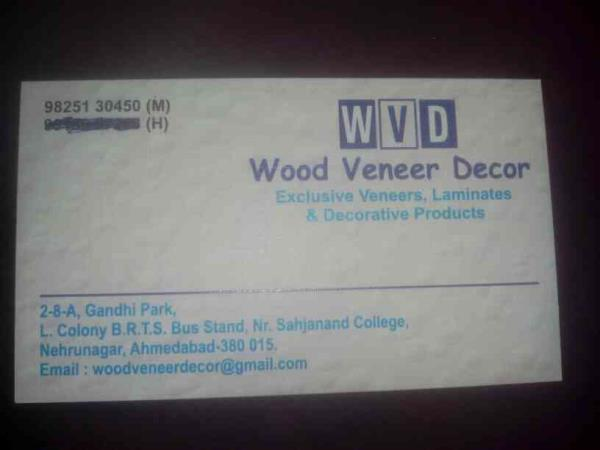 For ply wood related any enquiry please contact - by Wood Veneer, Ahmedabad