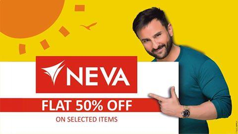Hurry ! Flat 50% off on wide range of Styles…...!! Join us on www.nevaindia.com/82-deals & Beat the heat with this summer bonanza offer…....... !! Limitted Period offer - by Welcome to Neva India, Ludhiana